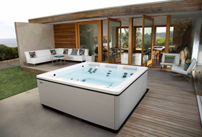 Above Ground Therapy Spas